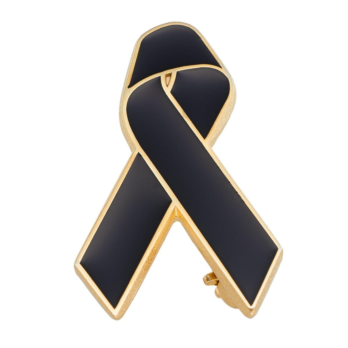 Black Ribbon Remembrance Pin