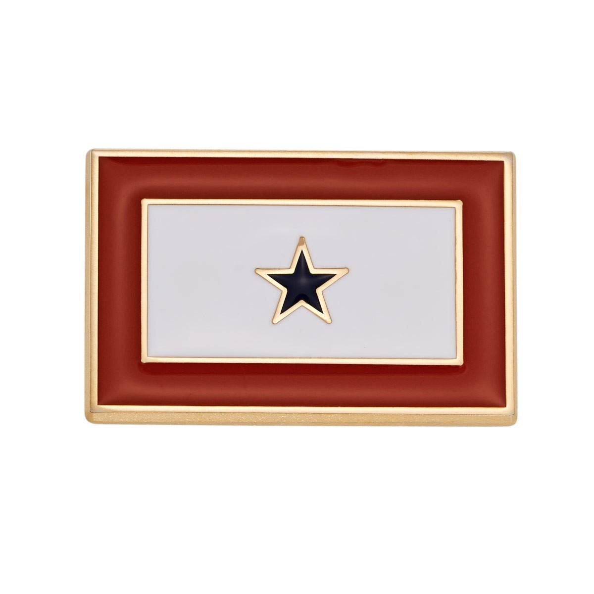Blue Star Pin