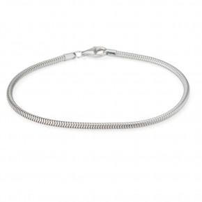 "7"" Sterling Silver Snake Chain Bracelet"