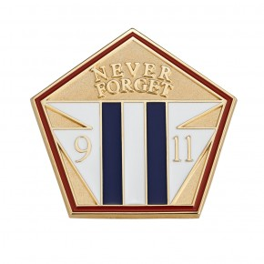 Never Forget 9/11 Pin