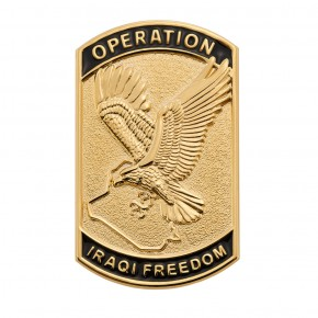 Operation Iraqi Freedom Pin