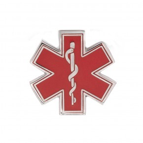 Red Star of Life Pin