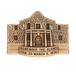 Remember The Alamo Pin