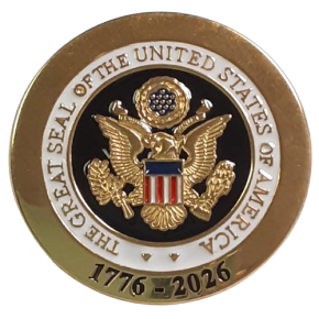 * NEW America 250 The Great Seal of the United States of America