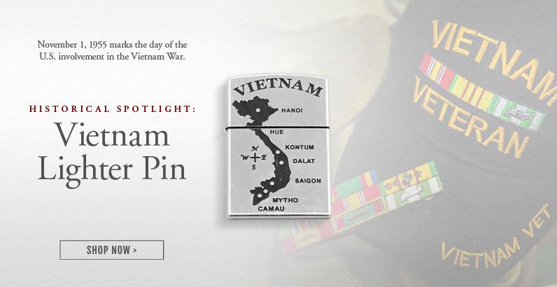 Vietnam Lighter Pin